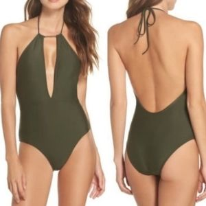 NWT Ted Baker Halter Swimsuit Size 2